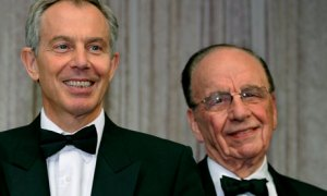 Tony Blair and Rupert Murdoch